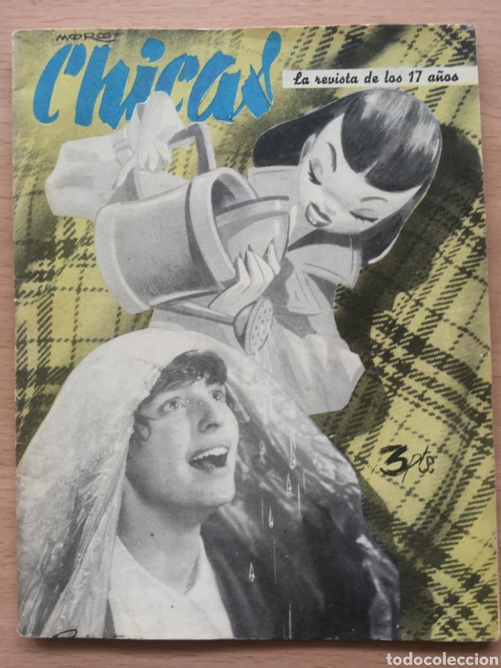 REVISTA CHICAS Nº 39 1951 VIRGILIO TEXEIRA (Coleccionismo - Revistas y Periódicos Modernos (a partir de 1.940) - Otros)
