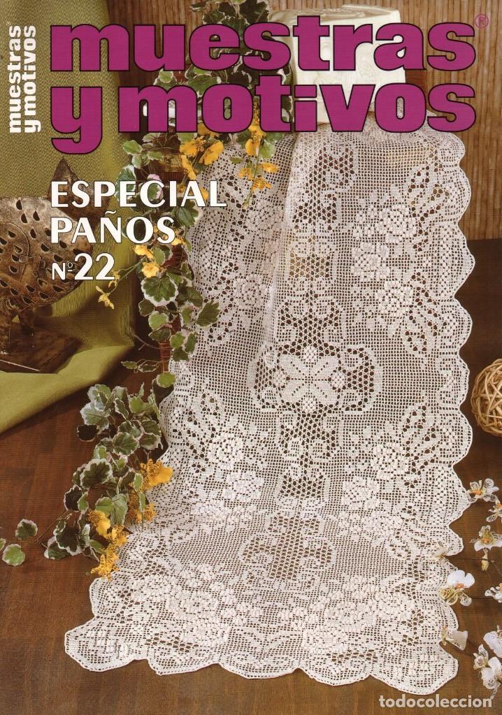 MUESTRAS Y MOTIVOS ESPECIAL PAÑOS N. 22 (NUEVA) (Coleccionismo - Revistas y Periódicos Modernos (a partir de 1.940) - Otros)