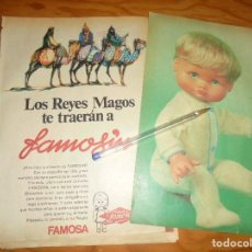 Coleccionismo de Revistas y Periódicos: LOS REYES MAGOS TE TRAERAN A : FAMOSIN . MUÑECAS FAMOSA. Lote 194369833