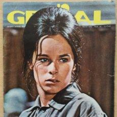 Coleccionismo de Revistas y Periódicos: REVISTA GENIAL Nº 40 1970 GERALDINE CHAPLIN, MIGUEL RIOS, PAUL MC CARTNEY, MARIBEL MARTÍN. Lote 194370156