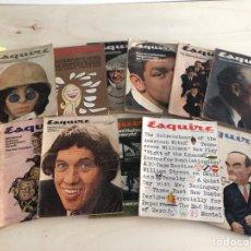 Coleccionismo de Revistas y Periódicos: LOTE REVISTAS SQUIRE AMERICANAS AÑOS 60. Lote 194373773