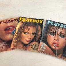Coleccionismo de Revistas y Periódicos: LOTE PLAYBOY FRANCIA AÑOS 70. Lote 194377385