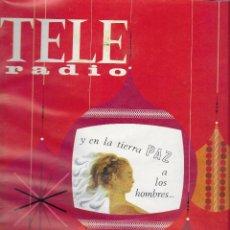 Coleccionismo de Revistas y Periódicos: REVISTA TELE RADIO Nº 469, 19-25 DICIEMBRE 1966, ESPECIAL FIESTAS DE NAVIDAD 1966. Lote 194384610