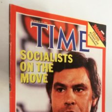 Coleccionismo de Revistas y Periódicos: REVISTA TIME 25 OCTUBRE1982 SOCIALISTS ON THE MOVE. Lote 194392766
