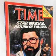 Coleccionismo de Revistas y Periódicos: REVISTA TIME 23 MAY 1983 STARS WARS III RETURN OF THE JEDI. Lote 194392932