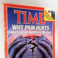 Coleccionismo de Revistas y Periódicos: REVISTA TIME 11 JUN 1984 WHY PAIN HURTS?. Lote 194393076