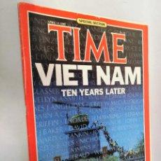 Coleccionismo de Revistas y Periódicos: REVISTA TIME 15 ABR 1985. VIETNAM 10 YEARS LATER. Lote 194393176