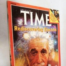 Coleccionismo de Revistas y Periódicos: REVISTA TIME 19 FEB 1979. REDISCOVERING EINSTEIN. Lote 194393270