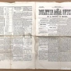 Coleccionismo de Revistas y Periódicos: BOLETIN OFICIAL DE LA PROVINCIA DE GRANADA. Nº 8. 9 DE ENERO DE 1858. Lote 194395947