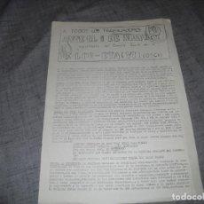 Colecionismo de Revistas e Jornais: PASQUIN O FOLLETO TRANSICION POLÍTICA LCR ETA C.1. Lote 194487982