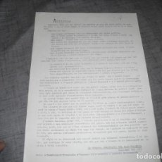 Colecionismo de Revistas e Jornais: PASQUIN O FOLLETO TRANSICION POLÍTICA ANMINISTA DICIEMBRE 1975 . Lote 194488095