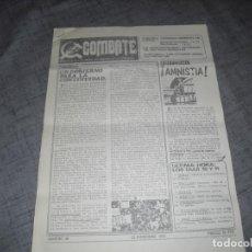 Colecionismo de Revistas e Jornais: PASQUIN O FOLLETO TRANSICION POLÍTICA COMBATE 1975 C. 1. Lote 194488543