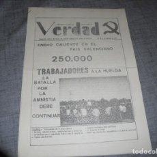 Colecionismo de Revistas e Jornais: PASQUIN O FOLLETO TRANSICION POLÍTICA VERDAD 1976. Lote 194489060
