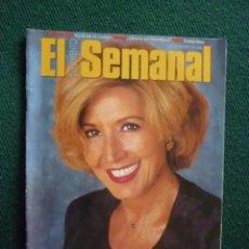 Coleccionismo de Revistas y Periódicos: SUPLEMENTO EL SEMANAL / CONCHA VELASCO, ESPLÉNDIDA MADUREZ / Nº 462 - 1996. Lote 194501508