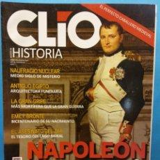 Coleccionismo de Revistas y Periódicos: CLIO HISTORIA. NAPOLEÓN SU CONQUISTA DE ESPAÑA. AÑO 19. NÚMERO 201. Lote 194504116