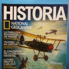 Coleccionismo de Revistas y Periódicos: HISTORIA. NATIONAL GEOGRAPHIC. ASES DE LA AVIACIÓN. Nº 166 . Lote 194504437