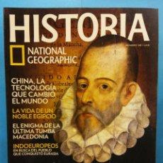 Coleccionismo de Revistas y Periódicos: HISTORIA. NATIONAL GEOGRAPHIC. CERVANTES, UNA VIDA DE AVENTURA. Nº 148. Lote 194505041