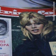 Coleccionismo de Revistas y Periódicos: MISS JOAN CRAWFORD SOFIA LOREN BRIGITTE BARDOT ANNA MAGNANI MUNDIAL FUTBOL SELECCION ESPAÑOLA CHILE . Lote 194505613