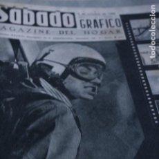 Coleccionismo de Revistas y Periódicos: REVISTA SABADO GRAFICO NUMERO UNO Nº 1 JAMES DEAN JUDES CARMEN DE LIRIO 1956. Lote 194506988