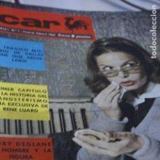 Coleccionismo de Revistas y Periódicos: REVISTA CAR NUMERO UNO Nº 1 IRENE DE HOLANDA FRANÑOISE HARDY SACHA DISTEL LOLA FLORES MARIA ROSA . Lote 194508131