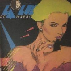 Coleccionismo de Revistas y Periódicos: REVISTA LA LUNA DE MADRID NUM13, NOVIEMBRE 84. MIQUEL BARCELÓ, MONCHO ALPUENTE.... Lote 194520542