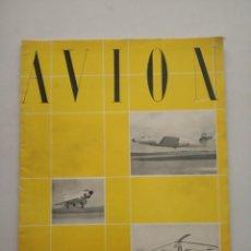 Coleccionismo de Revistas y Periódicos: AVION - REVISTA DE DIVULGACION AERONAUTICA - ENERO 1956. Lote 194526251