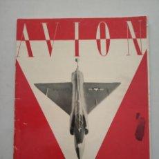 Coleccionismo de Revistas y Periódicos: AVION - REVISTA DE DIVULGACION AERONAUTICA - JUNIO 1955. Lote 194526323