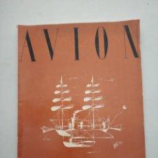 Coleccionismo de Revistas y Periódicos: AVION - REVISTA DE DIVULGACION AERONAUTICA - MARZO 1953. Lote 194526371