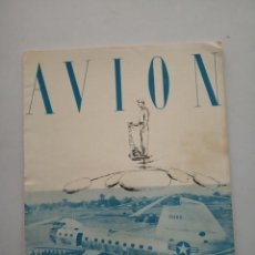 Coleccionismo de Revistas y Periódicos: AVION - REVISTA DE DIVULGACION AERONAUTICA - MAYO 1955. Lote 194526451