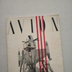 Coleccionismo de Revistas y Periódicos: AVION - REVISTA DE DIVULGACION AERONAUTICA - NOVIEMBRE 1954. Lote 194526540
