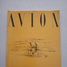 Coleccionismo de Revistas y Periódicos: AVION - REVISTA DE DIVULGACION AERONAUTICA - SEPTIEMBRE 1953. Lote 194526681