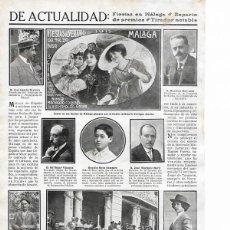 Coleccionismo de Revistas y Periódicos: 1911 HOJA REVISTA VALENCIA GRAN PISTA EXPOSICIÓN JURADO CONCURSO HÍPICO. Lote 194527542