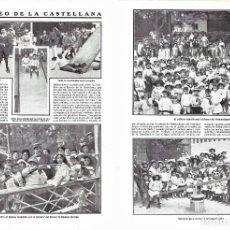 Coleccionismo de Revistas y Periódicos: 1911 HOJAS REVISTA MADRID RECREO DE LA CASTELLANA NIÑOS PATINES TOBOGÁN TIRO AL BLANCO CINEMATÓGRAFO. Lote 194530266
