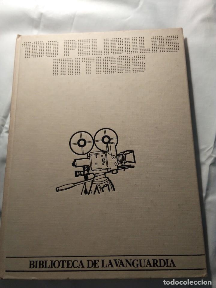 100 PELICULAS MITICAS (BIBLIOTECA LA VANGUARDIA). 1986 (Coleccionismo - Revistas y Periódicos Modernos (a partir de 1.940) - Otros)