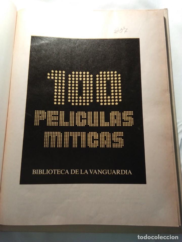 Coleccionismo de Revistas y Periódicos: 100 PELICULAS MITICAS (Biblioteca La Vanguardia). 1986 - Foto 5 - 194531100