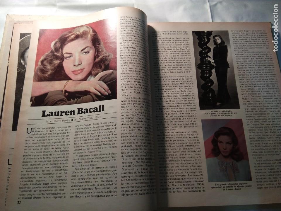 Coleccionismo de Revistas y Periódicos: LAS GRANDES ESTRELLAS DEL CINE. Terenci Moix - Foto 3 - 194531153