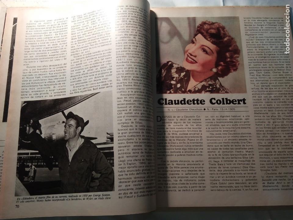 Coleccionismo de Revistas y Periódicos: LAS GRANDES ESTRELLAS DEL CINE. Terenci Moix - Foto 4 - 194531153