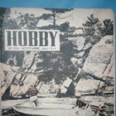 Coleccionismo de Revistas y Periódicos: REVISTA HOBBIT NOVIEMBRE 1963 №326 REVISTA ARGENTINA SE VENDÍA EN ESPAÑA. Lote 194531617