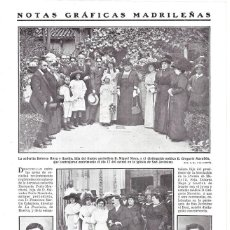 Coleccionismo de Revistas y Periódicos: 1911 HOJA REVISTA MADRID ABOGADO JOSÉ GONZÁLEZ JUBANY - DOCTOR EN DERECHO CONSTANTINO BALLESTER. Lote 194531633