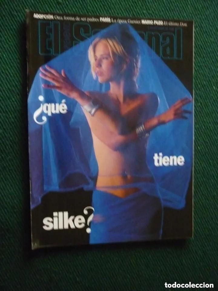 SUPLEMENTO EL SEMANAL / ¿QUÉ TIENE SILKE? / Nº 467 - 1996 (Coleccionismo - Revistas y Periódicos Modernos (a partir de 1.940) - Otros)