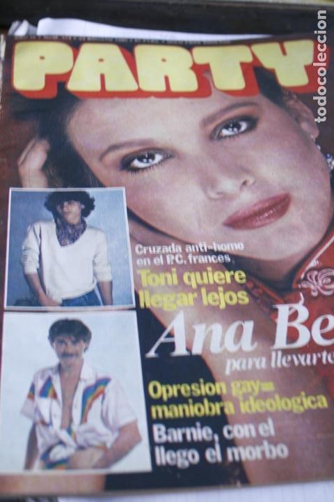 REVISTA EROTICA GAY PARTY Nº 174 ANA BELEN SARA MONTIEL ROCIO DURCAL DESNUDOS (Coleccionismo - Revistas y Periódicos Modernos (a partir de 1.940) - Otros)
