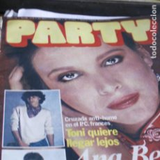 Coleccionismo de Revistas y Periódicos: REVISTA EROTICA GAY PARTY Nº 174 ANA BELEN SARA MONTIEL ROCIO DURCAL DESNUDOS. Lote 194532757
