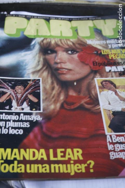 REVISTA EROTICA GAY Nº 173 AMANDA LEAR ANTONIO AMAYA 1980 (Coleccionismo - Revistas y Periódicos Modernos (a partir de 1.940) - Otros)