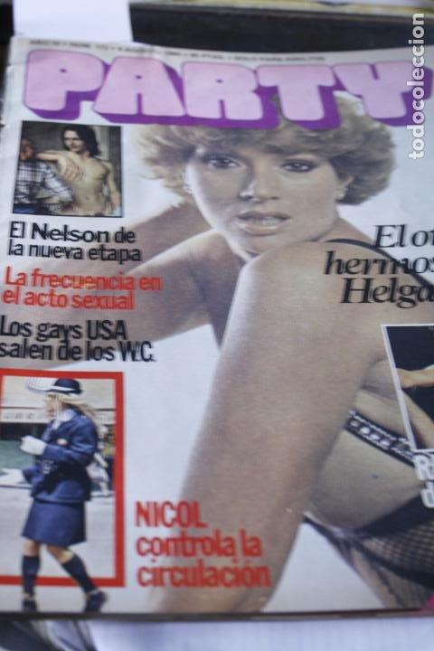 REVISTA EROTICA GAY Nº 172 HELGA LINE MARISOL DESTAPE DESNUDO 1980 (Coleccionismo - Revistas y Periódicos Modernos (a partir de 1.940) - Otros)
