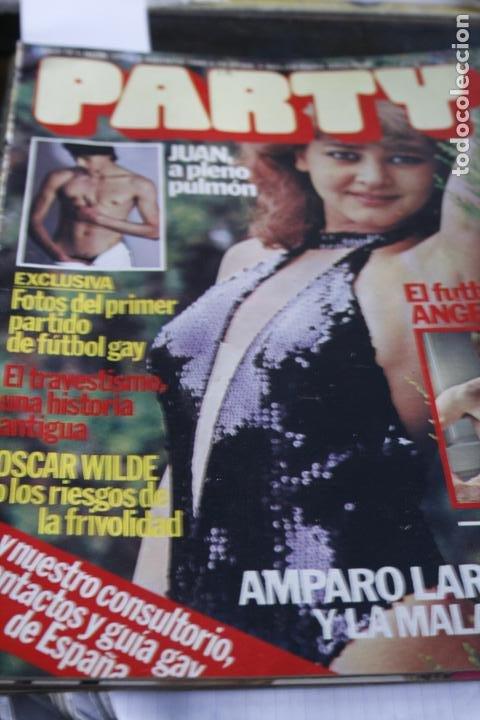 REVISTA EROTICA GAY Nº 171 AMPARO LARRAÑAGA ESCAMILLO 1980 DESTAPE DESNUDO (Coleccionismo - Revistas y Periódicos Modernos (a partir de 1.940) - Otros)