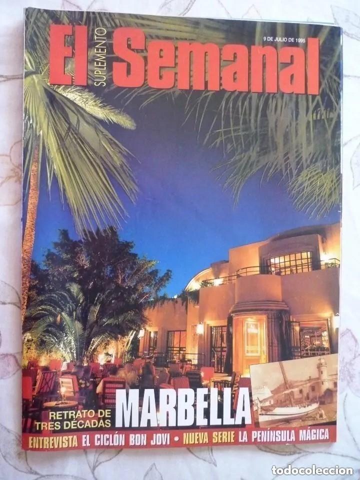 SUPLEMENTO EL SEMANAL / MARBELLA / Nº 402 - 1995 (Coleccionismo - Revistas y Periódicos Modernos (a partir de 1.940) - Otros)