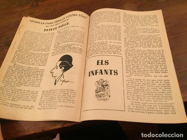 Coleccionismo de Revistas y Periódicos: Antigua revista Els Infants els primers freds numero 6 - Foto 4 - 194537375
