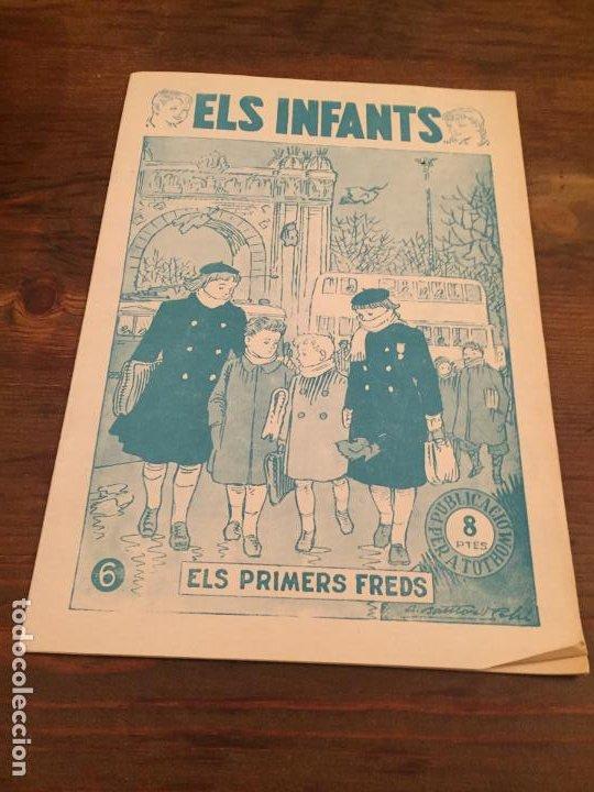 ANTIGUA REVISTA ELS INFANTS ELS PRIMERS FREDS NUMERO 6 (Coleccionismo - Revistas y Periódicos Modernos (a partir de 1.940) - Otros)
