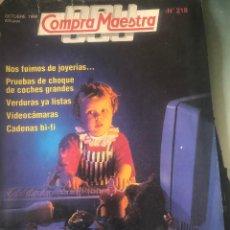Coleccionismo de Revistas y Periódicos: REVISTA 'OCU COMPRA MAESTRA', Nº 218. OCTUBRE 1998. ORDENADORES, MOTOSIERRAS, VIDEOCÁMARAS, ETC.. Lote 194537515