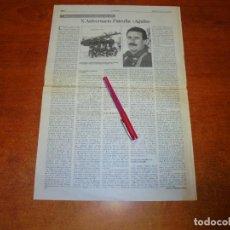 Coleccionismo de Revistas y Periódicos: RECORTE DE PRENSA 1995: X ANIVERSARIO DE LA PATRULLA ÁGUILA. MEDIO SIGLO DE LA ACADEMIA GENERAL DEL . Lote 194540851